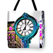Fifth Avenue Building Clock New York  Tote Bag
