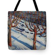Fifth Floor Shadows Tote Bag