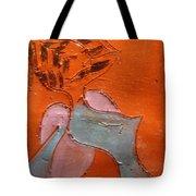 Fifties Gal - Tile Tote Bag
