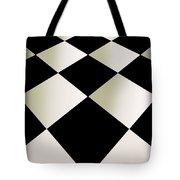 Fifties Kitchen Checkerboard Floor Tote Bag