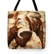 Fight Bull Tote Bag