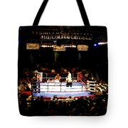 Fight Night Tote Bag by David Lee Thompson