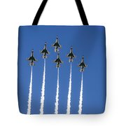 Fighter Attack Tote Bag
