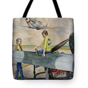 Fighter Dreams Tote Bag