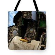 Fighter Jet Cockpit 01 Tote Bag