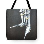 Fighting Boots Tote Bag