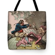 Fighting For The Dunghill Tote Bag