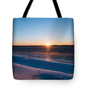 Fighting The Ice Tote Bag