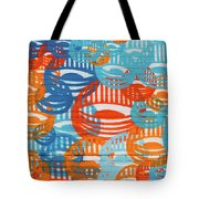 Fights Of Delight Tote Bag