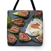 Figs Dessert With Mascarpone Tote Bag