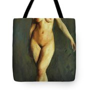 Figure In Motion 1913 Tote Bag