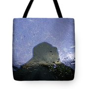 Figure In The Windshield Tote Bag