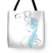 Figure/man Tote Bag