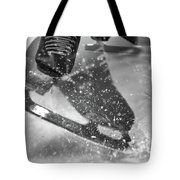 Figure Skating Abstract Tote Bag