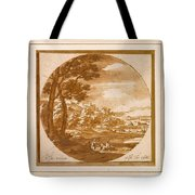 Figures In An Italianate  Tote Bag