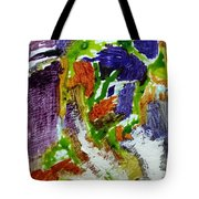 Figures In The City Tote Bag