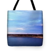 Figures On The Breakwater Tote Bag