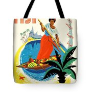 Fiji Fly By Teal Tote Bag