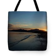 Fiji Sunset Tote Bag