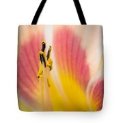 Filament Flower Tote Bag