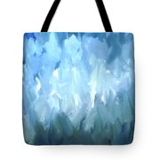 Filed Of Lilies Tote Bag