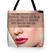 Fill This In With Great Things Tote Bag