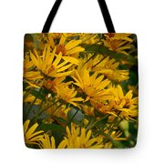 Filled With Sunflowers Horizontal Tote Bag