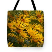 Filled With Sunflowers Vertical Tote Bag