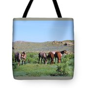 Fillies Day Out Tote Bag