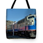 Fillmore And Western Railway Christmas Train 2 Tote Bag