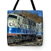 Fillmore And Western Railway Christmas Train 3 Tote Bag