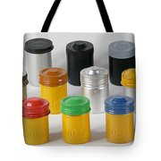 Film Cans Tote Bag