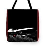 Film Noir Homage Robert Mitchum Blood On The Moon 1948 Rising Moon 2 Casa Grande Arizona 2005-2008 Tote Bag