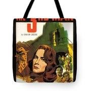 Film Noir Poster  The Third Man Tote Bag