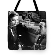 Film Noir Publicity Photo #2 Bogart And Bacall The Big Sleep 1945-46 Tote Bag