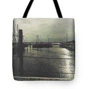 Filtered Marina Tote Bag