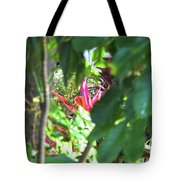 Filtered Red Tote Bag