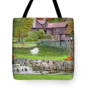 Fin N Feather At Seven Springs Tote Bag