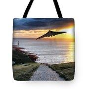 Final Beachy Head Pass Tote Bag