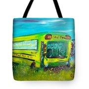 Final Bus Stop  Tote Bag by Steve Jorde