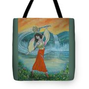 Final Fantasy Goddess  Tote Bag