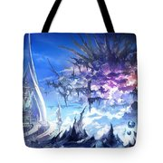 Final Fantasy Xiv A Realm Reborn Tote Bag