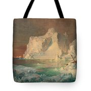 Final Study For The Icebergs Tote Bag
