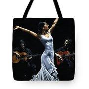 Finale Del Funcionamiento Del Flamenco Tote Bag by Richard Young