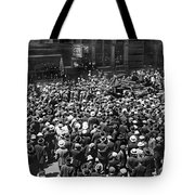 Financial District Showgirls Tote Bag