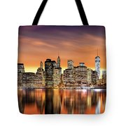Financial District Sunset Tote Bag