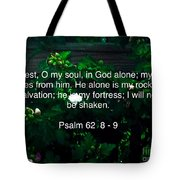 Finding Rest Tote Bag