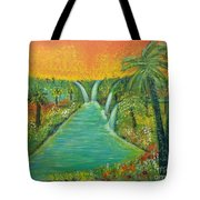 Finding That Place Tote Bag