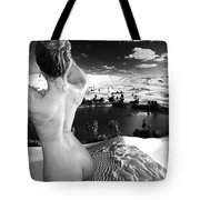 Finding The Oasis Tote Bag