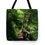Finding The Right Path Tote Bag